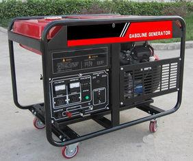 Quality 10kva Portable Gasoline Generator , AC Single Phase 10kw Electric Key Start for sale