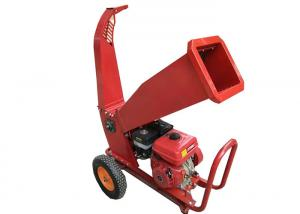 China 6.5HP gasoline engine shredder petrol wood chipper shredder machine on sale