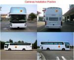 2D système de caméra de bordure de voiture de camion d'autobus de HD avec conduire l'enregistrement vidéo/oeil de poissons large superbe, modèle universel