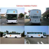 2D HD Bus Truck Car Surround Camera System With Driving Video Recording / Super Wide Fish Eye,universal model