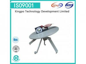 China IEC60335-1 Stability Test Turn Table With Digital Inclinometer / Inclined Plane Device on sale