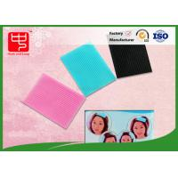 Lovely Hook and Loop sheet hook and loop hair accessories square Shape For face washing