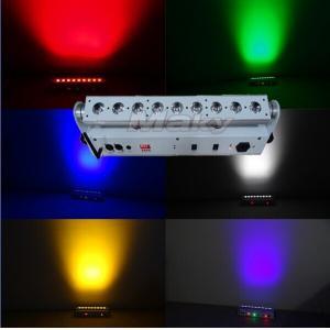 China 9pcs led battery&wireless dmx bar light  stage wall led washer lights on sale