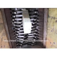 Industrial Double Shaft Shredder Machine For Waste Mattress / Rubber Foam