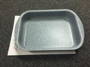 China Non-stick coating square pan  for BBQ / roaster outer heat resistant painting on sale
