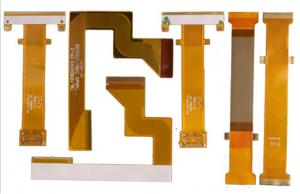 China Double Sided Multilayer Flexible Circuit Board Control Feel Smooth 0.05mm - 1.0mm on sale