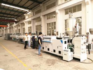 China Plastic PU PA Pipe Extrusion Machine Double Screw Extrusion Machine on sale