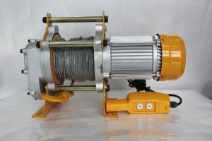 China KCD Type Electric Lifting Winch / Electric Rope Winch 7-14 M/Min Lifting Speed on sale