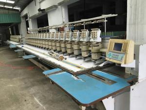 Used Embroidery Machines For Sale >> Barudan 20 Heads Used Commercial Embroidery Machines 9 Needles For