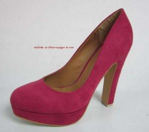 China Red Wedding Shoes on sale