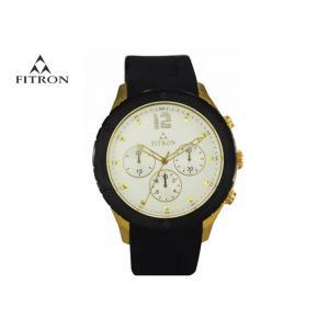 China Fitron Brand Multifunction Wrist Watch For Gentlemen Generous Style on sale