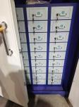 Elevator / Cabinet Intelligent Locking Systems , Triode Control Board For 336pcs Doors