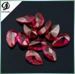 Checkerboard cut 8x12mm natural ruby gems with factory price