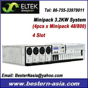 China Eltek Minipack 48V, 3.2KW power supply system on sale