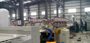 China Construction Template Wood Plastic Composite Extrusion Line WPC Board Making Machine on sale