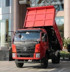 China Light Duty 10 Wheels Coal Dump Truck / 4x4 Mini Dump Truck 140 Horsepower on sale