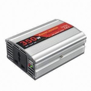 China 12V DC/24V AC 220V 350W Car Inverter with USB Cigarette Lighter and Clips on sale