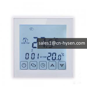 China Programmable lcd touch panel heating digital wifi thermostat for solar water heater on sale