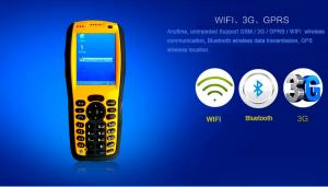 China 2.8 inch Windows CE   Rugged Android Pda With GPS / RFID Reader on sale