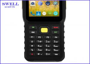 China 4.0 Inch Industrial Rugged Handheld Devices With Moto SE965 Barcode Scanner on sale