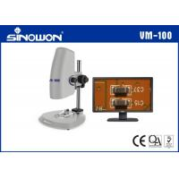 High Definition Video Microscope System With Coarse And Fine Adjustment Elevator Group