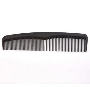 China Classical Black Carbon Fiber Small Hair Combs High Flexibility Without Fly Away on sale