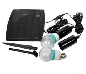 China 2.5W Solar energy led bulb light on sale