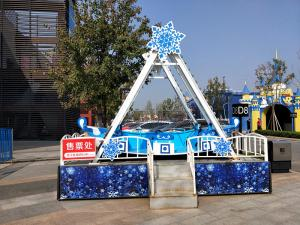 China Strength Amusement Park Pirate Ship Roller Coaster 5×7 M Area Required on sale