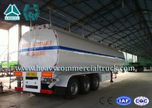 China 54 m3 High Performance road tank semi trailer  For Oil Carrying 55 Tons - 75 Tons on sale