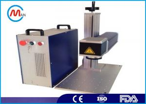 China Fiber laser marker machine / Engraving Machine with Stable Laser Etching System on sale