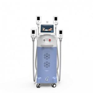 China VACUUM THERAPY CRYOLIPOLYSI SLIMMING MACHINE WITH FOUR SILICONE HANDLE on sale