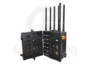 China Portable Military Signal Jammer Output Power 300W 4GLTE Cell Phone Signal Interrupter on sale