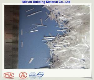 China a costa desbastada do alcaloide de 6mm fibra de vidro resistente para o concreto reforça on sale