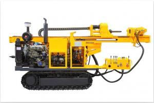 China 300m Rock Crawler Water Well Hydraulic Rotary Drilling Rig CYG300 on sale