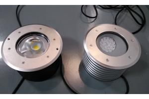China Bevel angle led led inground uplight IP65 / DC24V led ground lights 24w on sale