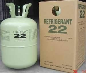China for auto air conditioners above 99.9% high purity CHCLF2 r22 refrigerant replacement on sale