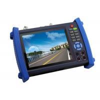 HD SDI Digital CCTV Tester 7Inch For POE Power Supply Testing