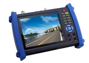 China 7Inch HD SDI CCTVのテスター、ディジタル マルティメーターTDRケーブルのテスター on sale