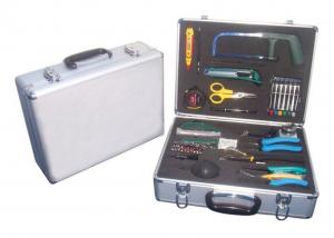 China 24 Pieces Fiber Optic Test Equipment Instruments Optical Cable Kit on sale