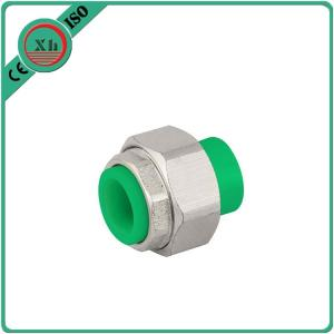 China OEM / ODM Water Filter Pipe Fittings , Brass Ppr Union 20 - 25 MM Size on sale