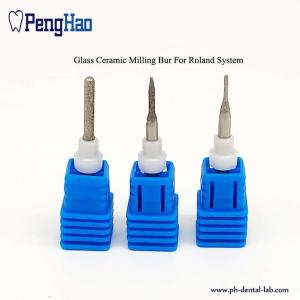 China Diamond coating glass Dental Milling Burs for Roland system on sale