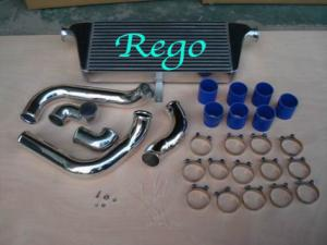 China Front Mounted Air To Water Intercooler For Toyota Chaser JZX100 With Piping Kits on sale