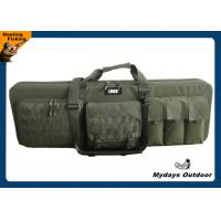 3 Rifles Heavy Duty Double Camo Gun Case Military 43 Inch With Shooting Mat