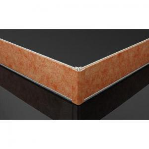 China Plastic Waterproof Skirting Board White for Kitchen Cabinet Fireproof on sale