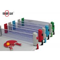 Indoor / Outdoor Portable Table Tennis Set Easy To Take 190 * 68.5mm Size