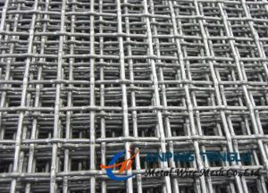 China SS, Al, Cu, Ni Intermediate Crimped Wire Mesh, 5-100mm Opening, 0.6-5.8mm Wire on sale