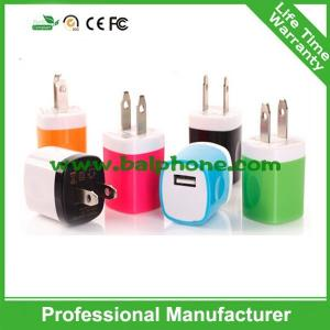 China Single USB travel charger for Iphone on sale