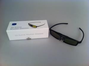 China USB Rechargeable 3D Active Shutter Glasses HD Active  Glasses For Projector on sale