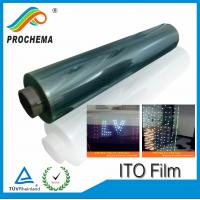 China LED Glass Film 50ohm ito film on sale
