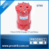 GT60 115mm guage flat face retrac 20 buttons for long-hole